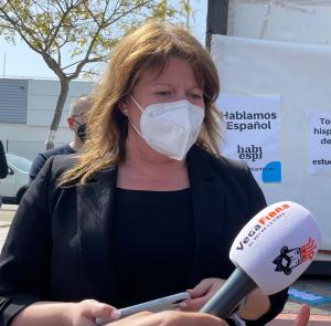 """Ana Serna: """"Puig tiene que actuar con valentía y unirse a Murcia y Andalucía contra el cerrojazo del agua para Alicante"""""""