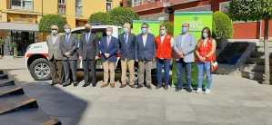 La Cruz Roja de Orihuela dispone de un nuevo vehículo todoterreno gracias a la Caja Rural Central