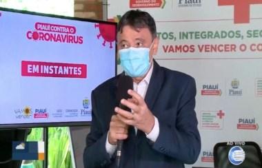 Medida foi anunciada pelo governador do Piauí, Wellington Dias  (Foto: Reprodução/TV Clube)