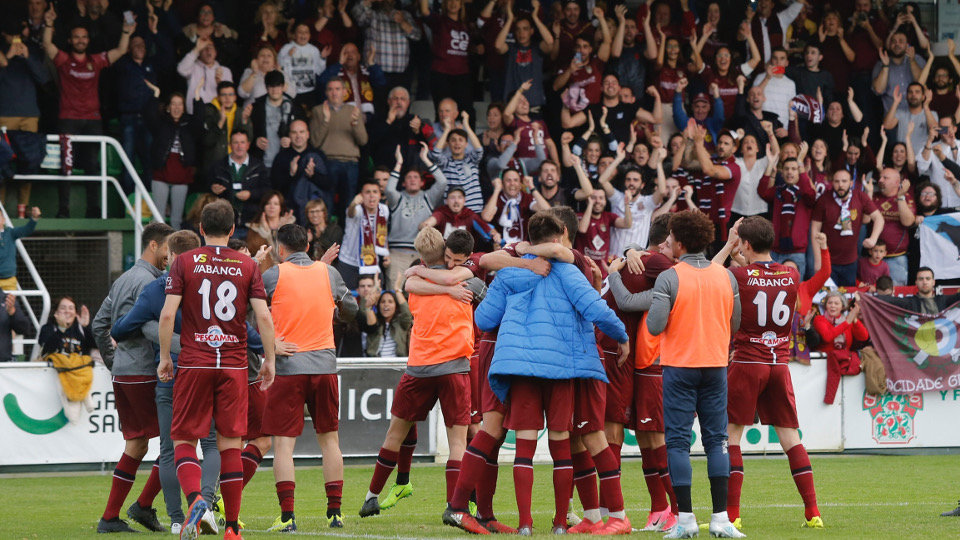 0-1. O Pontevedra gaña en Coruxo e métese en promoción