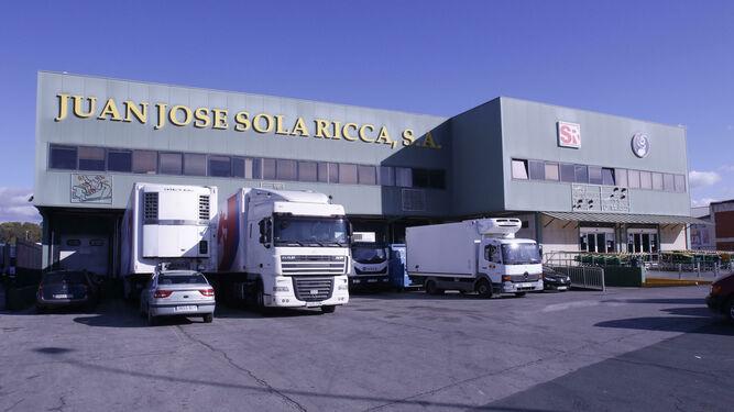 La sede de Sola Ricca, el pasado martes.