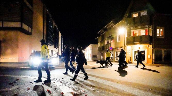 Cinco muertos y dos heridos en el ataque con arco y flechas en Noruega