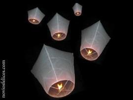 11 globos luminosos bodas - Un Toque Oriental: Suelta de Globos!