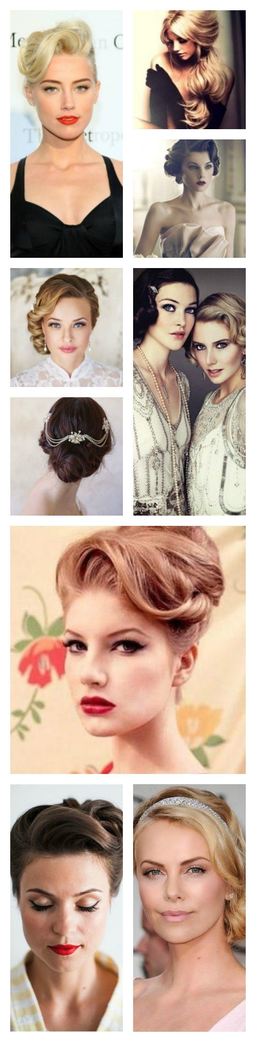 peinados vintage para bodas