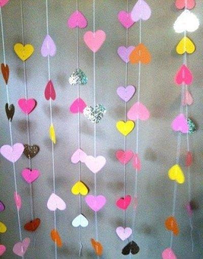 fondo de photocall con corazones