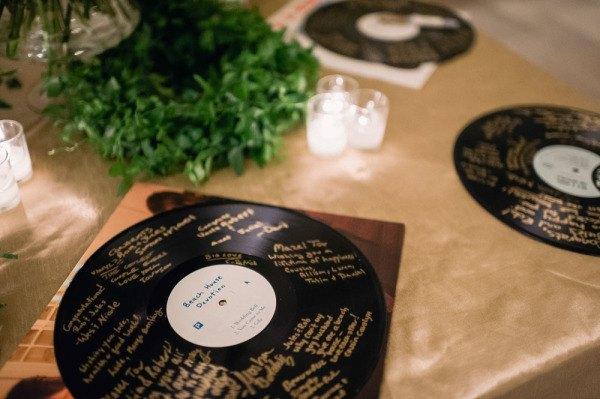 libro de firmas en disco