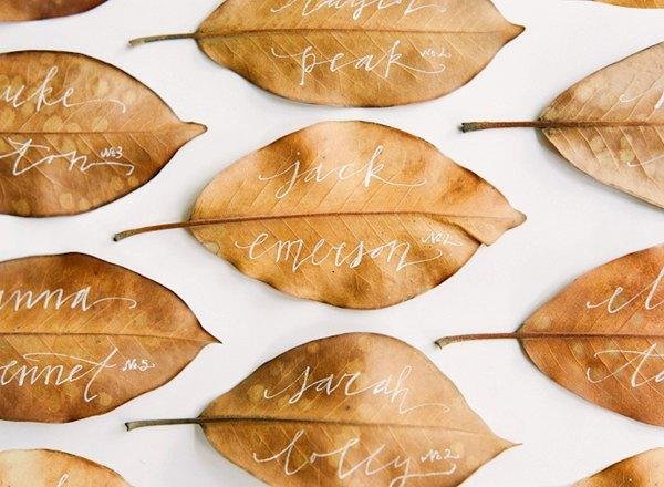 ideas bodas otoño