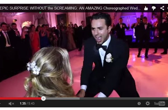 Baile sorpresa del novio