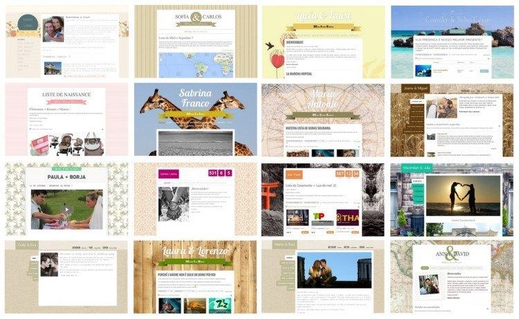 Crear web de bodas