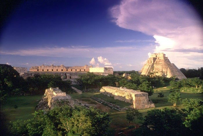 rivera maya uxmal