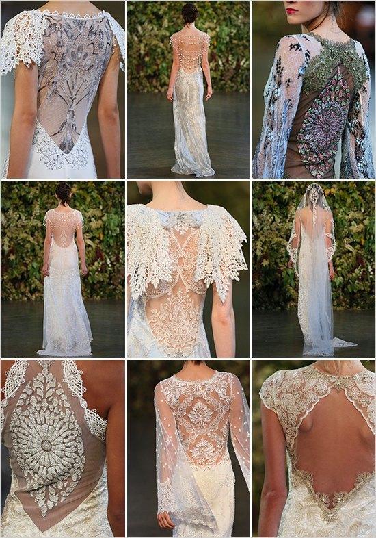 Vestidos de novia claire pettibone