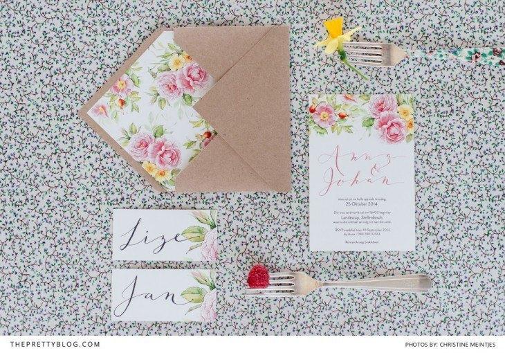 Invitaciones de boda romanticas