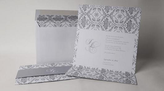 Invitacion de boda elegante y barato