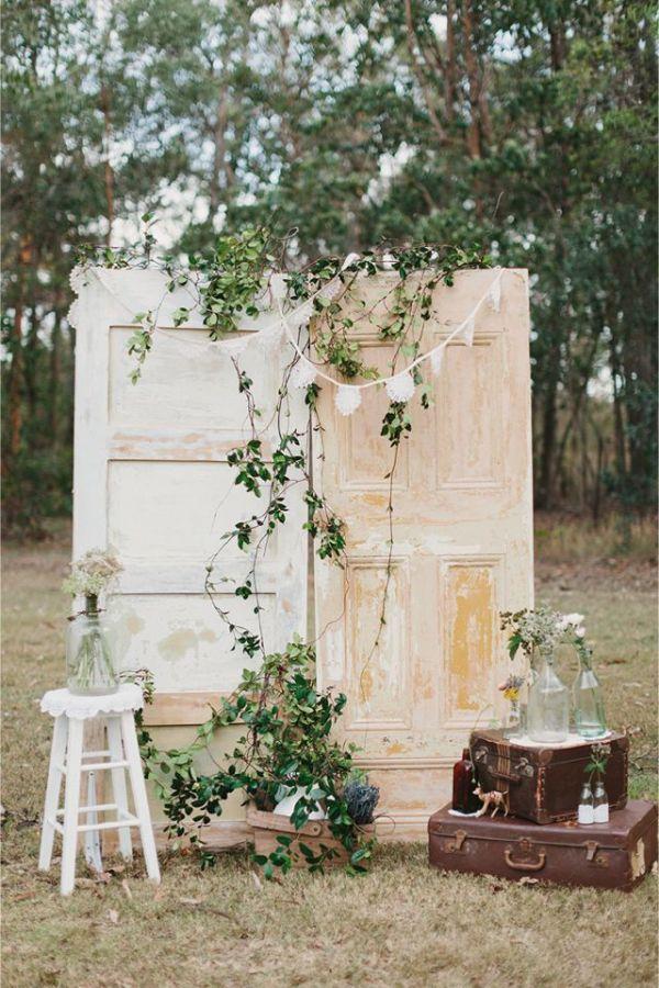fondos para photocall de bodas originales puertas romanticas