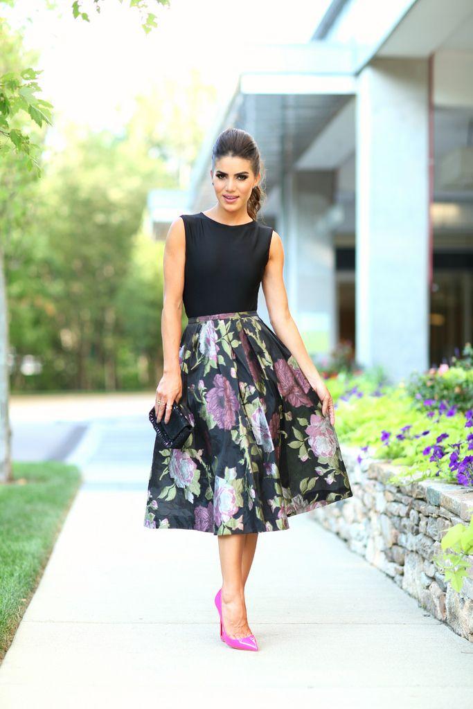 Look de invitada con falda diario de una novia jpg 683x1024 Modelos de  faldas 2015 noche 1dfe277441d0