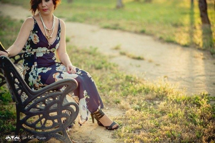 look de invitada vestido floral