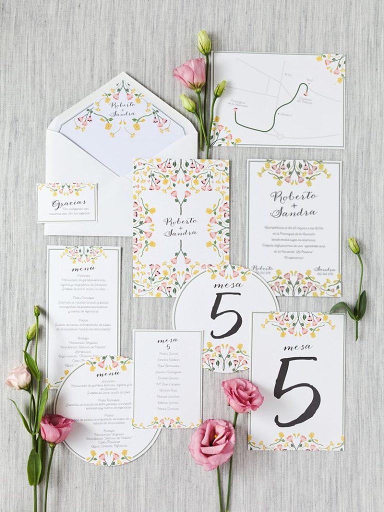 invitaciones de boda originales con estilo
