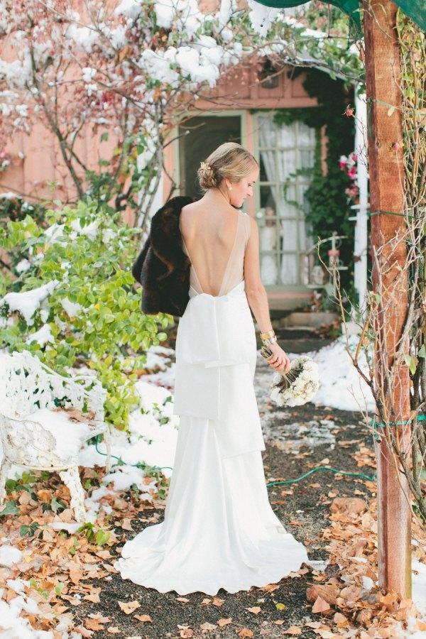 Boda en la Nieve novia
