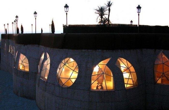 Exterior del Pabellón de las Artes en Granada