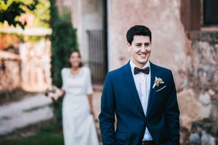 Boda Nuria y Gerard con First Look - las supersticiones de una boda
