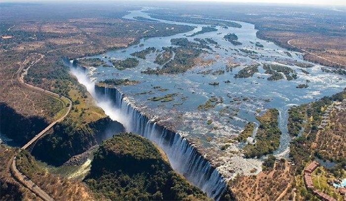 catarratas victoria en Botswana