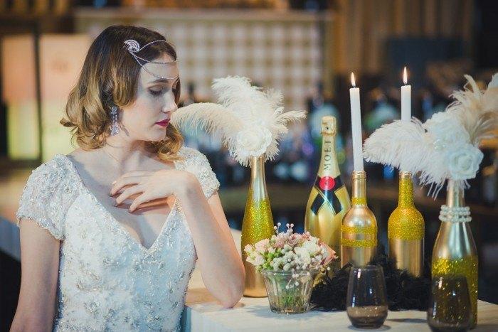 Boda con inspiración Gatsby - Editorial gatsby style