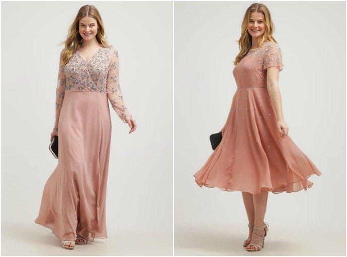 vestidos de fiesta talla grande (ir de bodas)