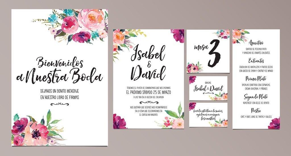 Set de Papelería Romántico Oh Fleur