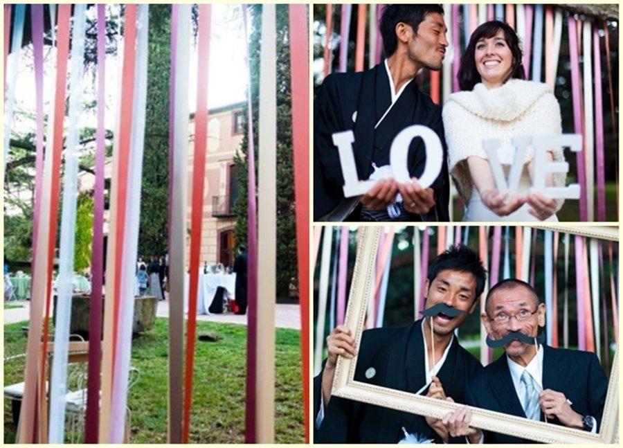 photocall divertido boda