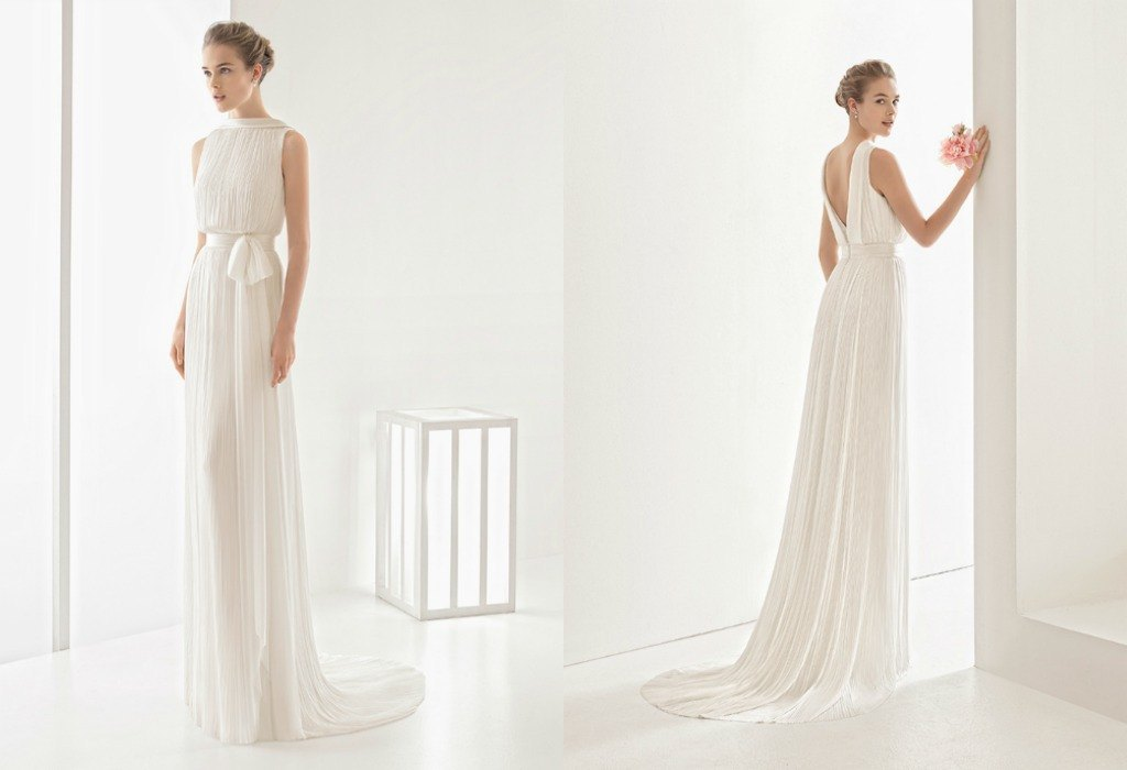 Venta de vestidos de novia sencillos y elegantes