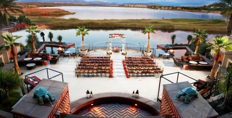 casarse en un lago
