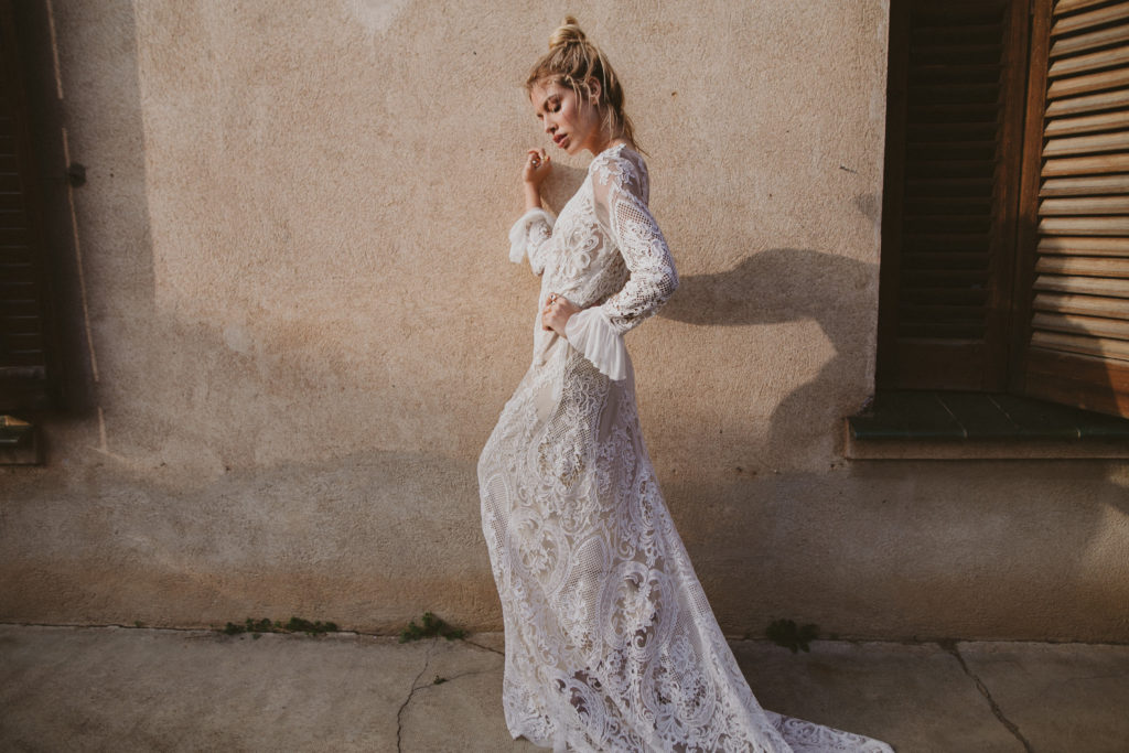 Vestido de Novia Bohemio Immacle Tanger 22