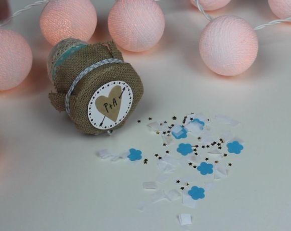 Tutorial Disparador de Confeti para Bodas - DIY Cañón de Confeti para Bodas