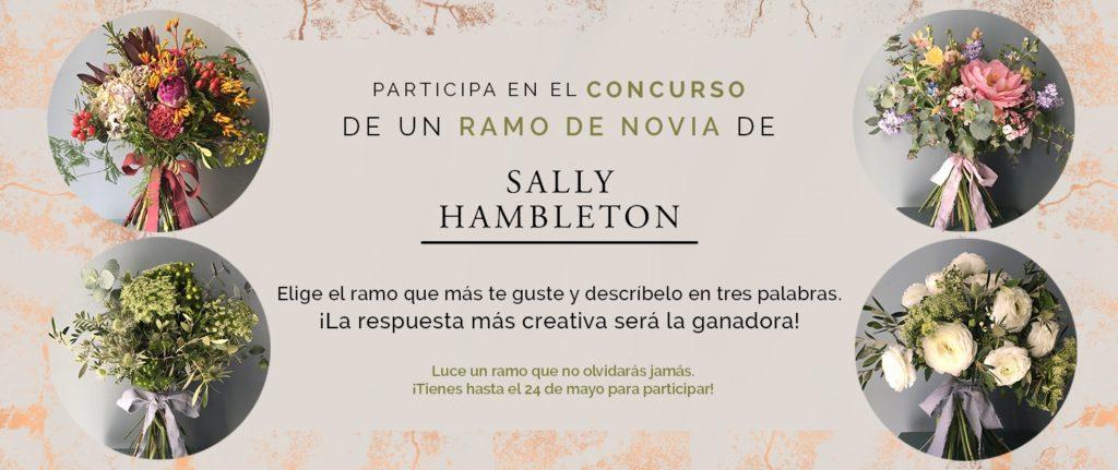 Imagen Concurso Ramo - BodaMás y Sally Hambleton te Regalan un Ramo de Novia