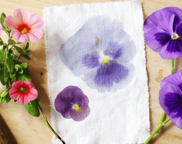 DIY Pintar con flores para tu Boda