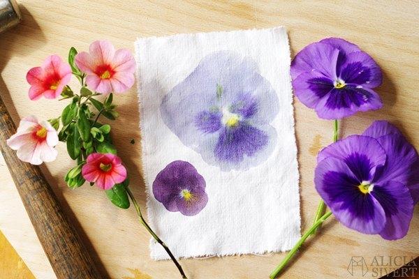DIY pintar flores para boda