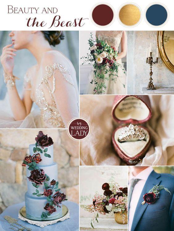 colores para tu boda marsala