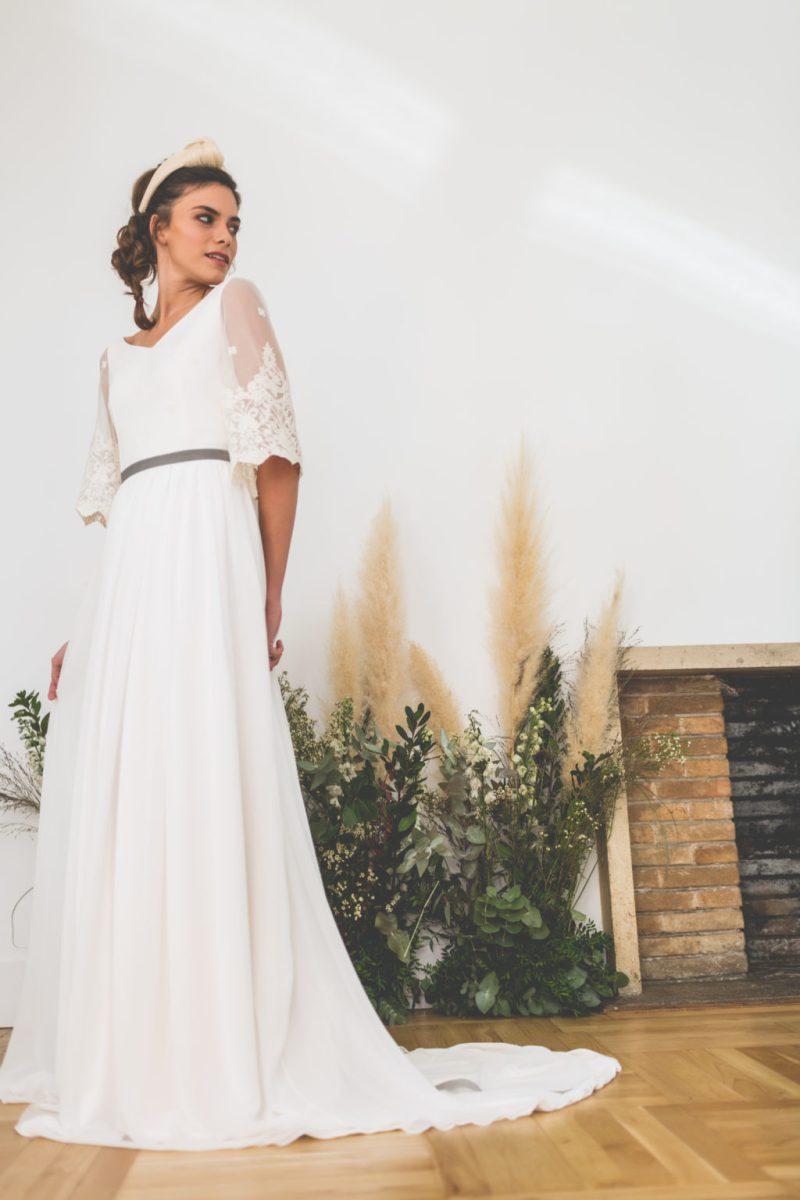 """Vestidos de novia lucia de miguel madrid 6 - Vestidos de Novia Lucia de Miguel: """"Nosotras"""""""