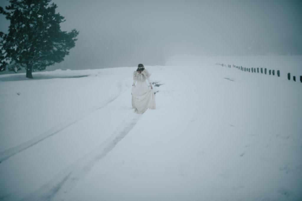 postboda en la nieve Tania y Rober 10 - Postboda en la Nieve del Valle de Arratia
