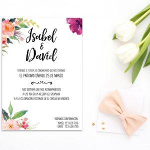 Invitación Oh Fleur - Diario de Una Novia Shop Online