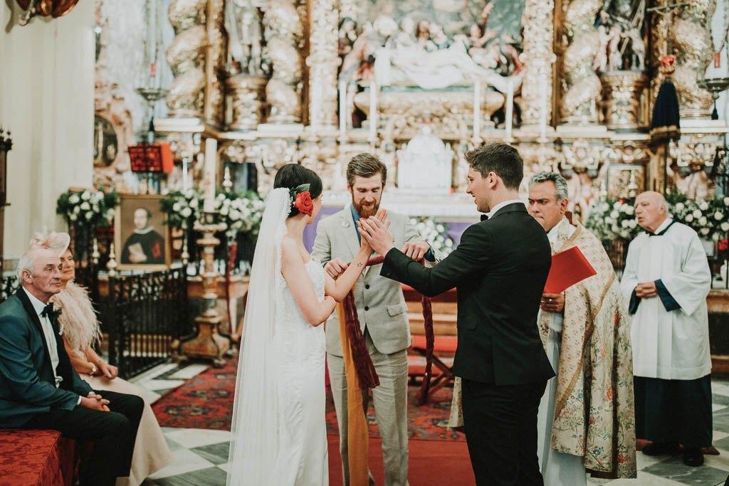 Irish wedding Hotel Alfonso 13 Seville 24 - La Boda Irlandésa de Ciara y Ciaran en Hotel Alfonso XIII