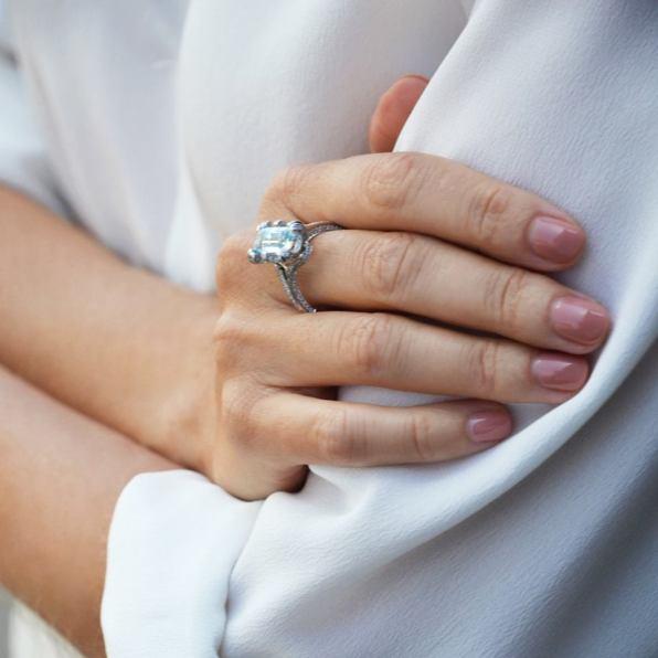 anillo de compromiso con diamante Beaprincess (1)