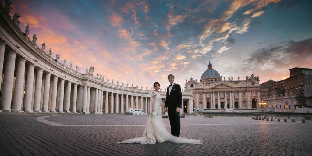 Organizar boda en el vaticano