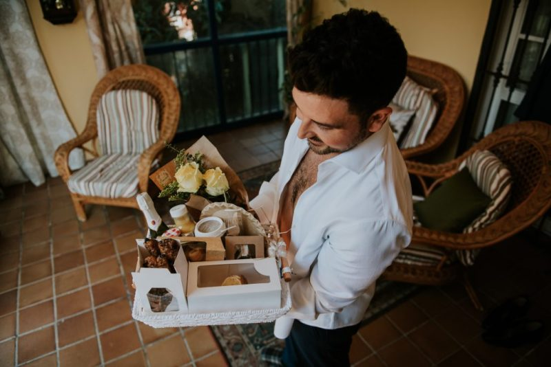 PREPARATIVOS38de261 - The Romantic Wedding of María and Javier