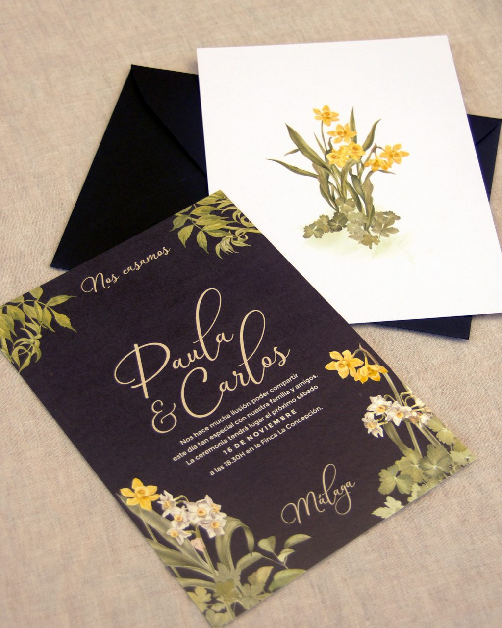 Invitaciones de boda Something Cute 7 - Invitaciones Inspiradas en la Naturaleza