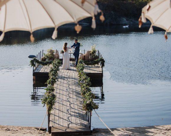 boda en finca prados moros Madrid 19 - Boda en un Embarcadero en Medio de la Sierra