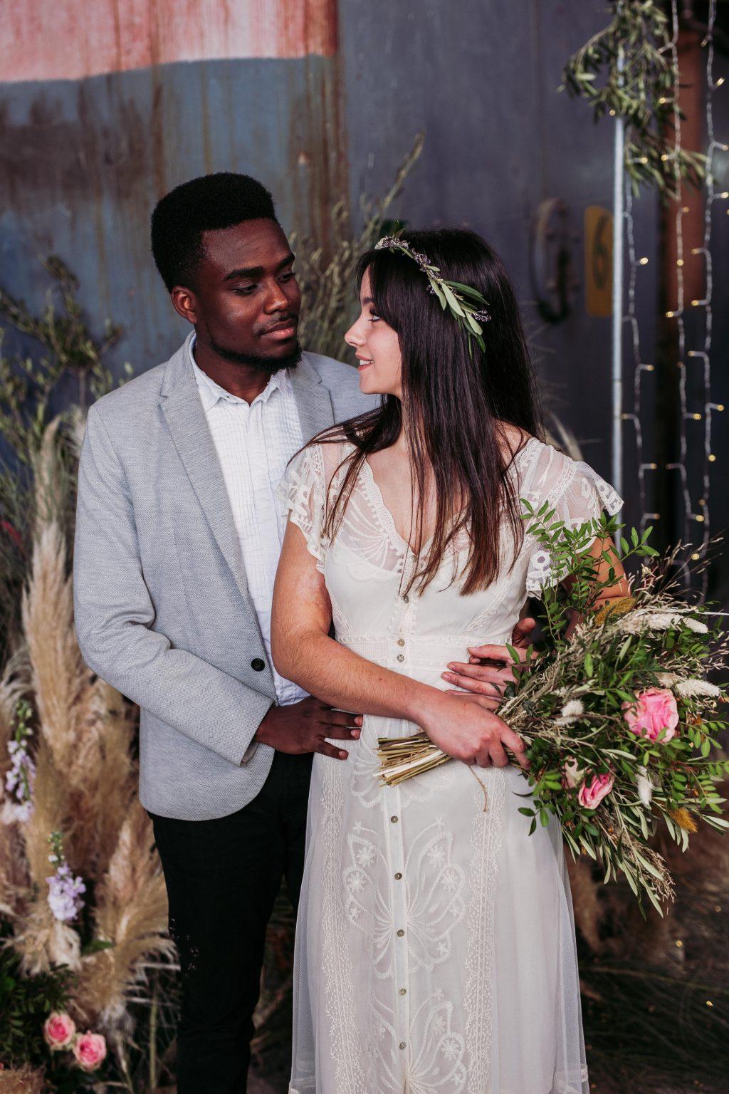 Inspiración para boda industrial editorial 15 - Inspiración para una Boda Industrial y Boho