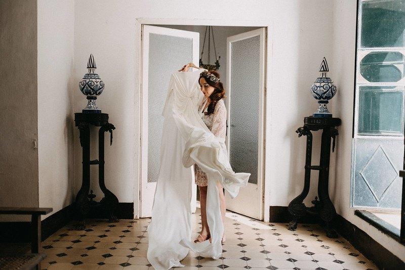 04 novia arreglarse hacienda ceremonia civil - ¿Dónde me Arreglo el Día de mi boda?