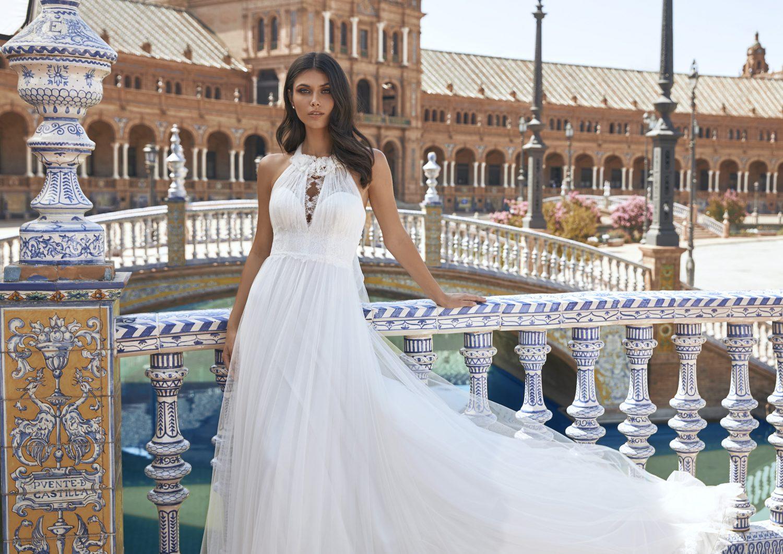 Pronovias vestidos de Novia 2021 Marchesa 45 - Marchesa la Nueva Colección de Vestidos de Novia Pronovias 2021
