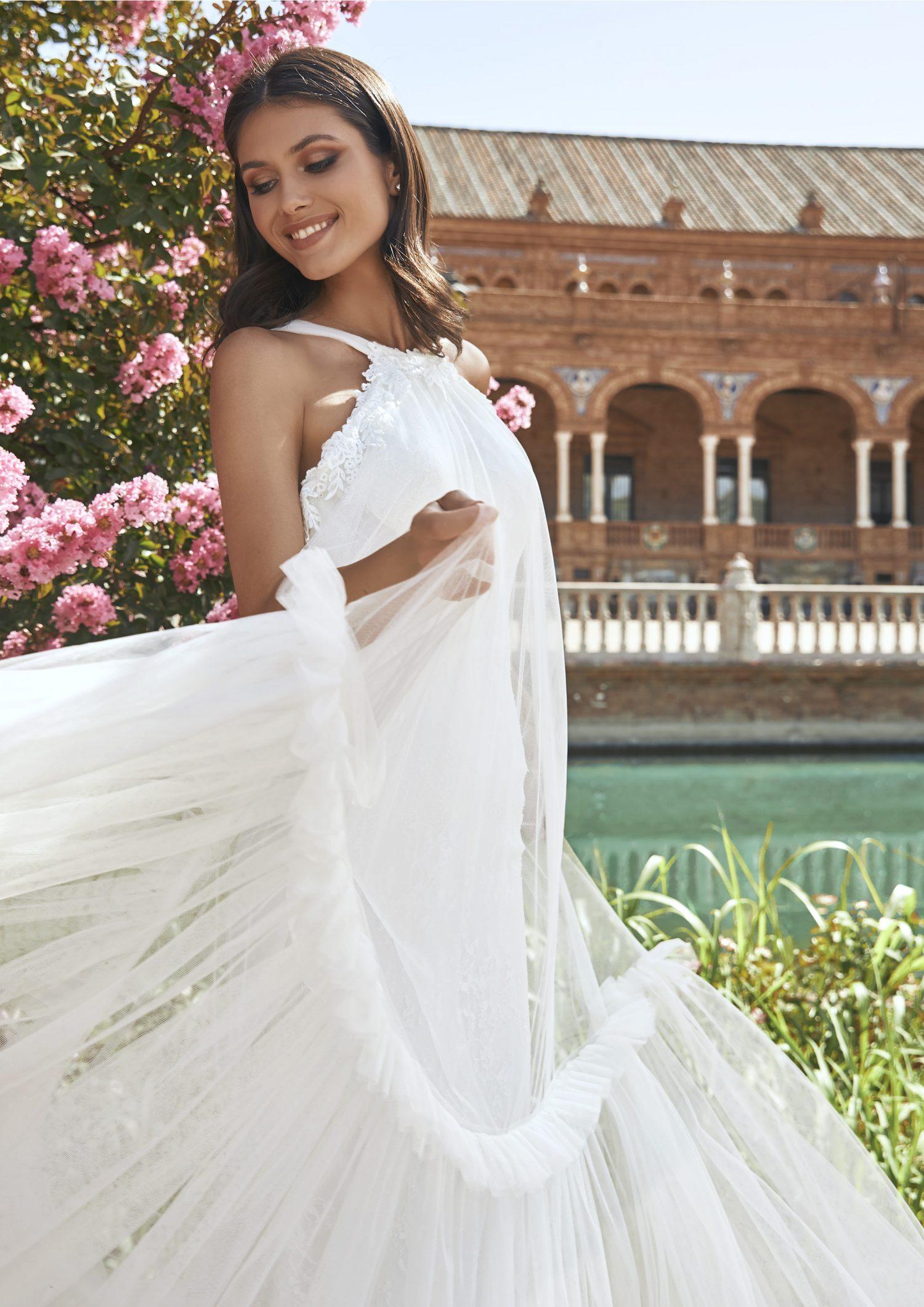 Pronovias vestidos de Novia 2021 Marchesa 72 1 - Marchesa la Nueva Colección de Vestidos de Novia Pronovias 2021